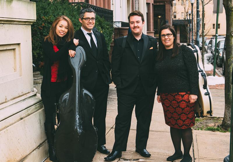 Camden String Quartet weddings